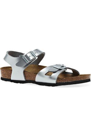 Birkenstock Rio Birko-Flor Electric Metallic Kids Sandals - Electric Metallic