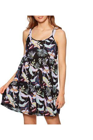 Roxy Sand Dune Beach Dress - Anthracite Praslin