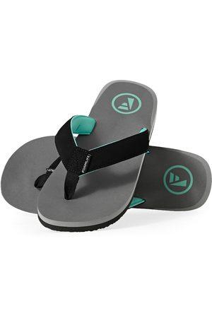 FoamLife Traa s Flip Flops - Stone Grey