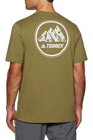adidas Tx Moun Gfx s Short Sleeve T-Shirt - Wildmoss