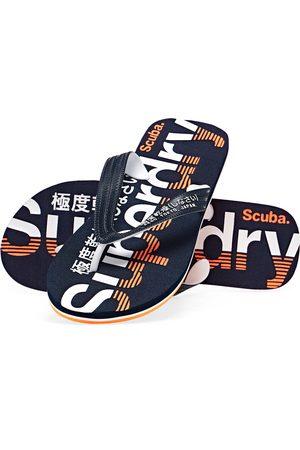 Superdry Classic Scuba s Flip Flops - Navy