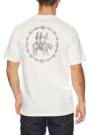 RVCA Skeleton Walk s Short Sleeve T-Shirt - Antique