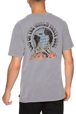 RVCA World Party s Short Sleeve T-Shirt - Storm
