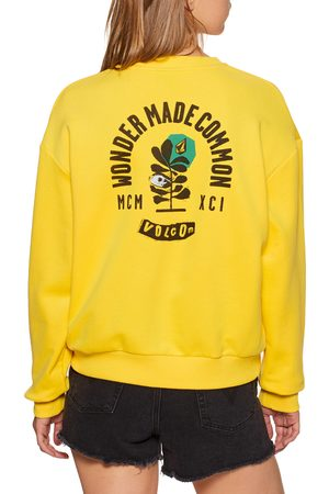 Volcom Volcheck Fleece s Sweater - Acid Lemon