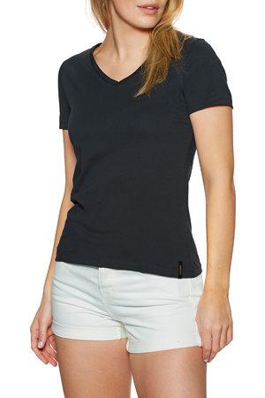 Superdry Lightweight Essential Vee s Short Sleeve T-Shirt - Eclipse Navy