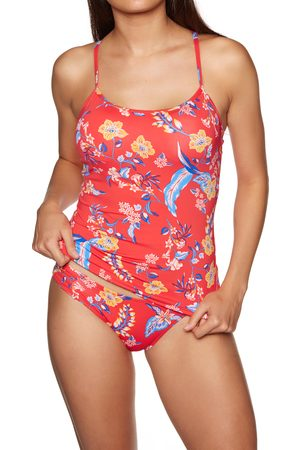 Swell Floral s Tankini Top - Coral