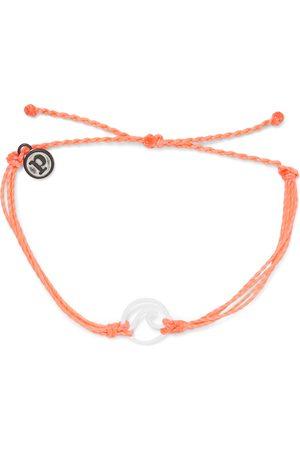 Pura Vida Enamel Wave Bracelet - Strawberry