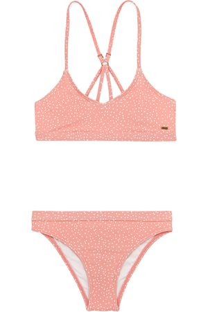 Rip Curl Tallow Spot Girls Bikini - Coral