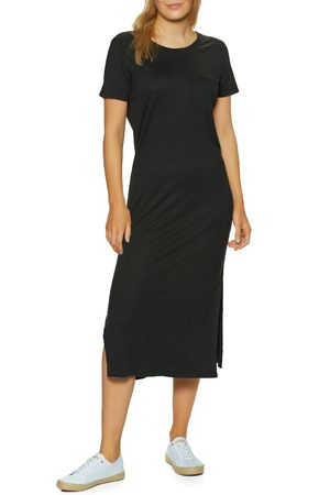 OUTERKNOWN Neptune Tee Dress - Pitch