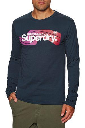 Superdry Cali s Long Sleeve T-Shirt - Nautical Navy