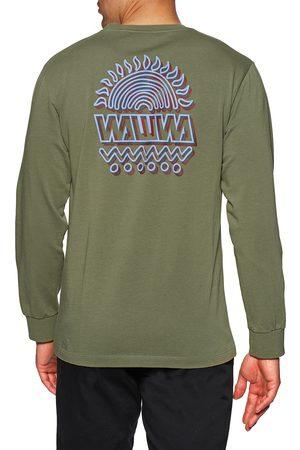 WAWWA Sunspots s Long Sleeve T-Shirt - Khaki