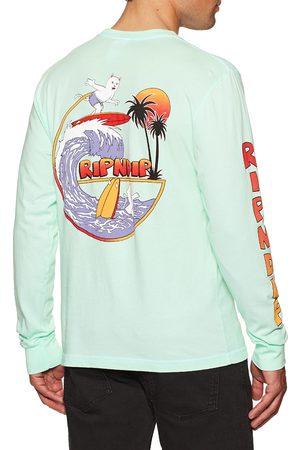 Rip N Dip Off My Wave Longsleeve s Long Sleeve T-Shirt - Aqua