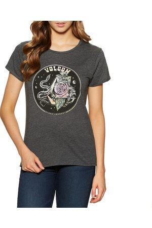 Volcom Radical Daze s Short Sleeve T-Shirt - Charcoal