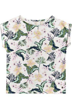Roxy African Sunset Girls Short Sleeve T-Shirt - Snow Praslin