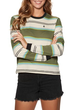 Volcom Choice Is Yours s Long Sleeve T-Shirt - Army Combo