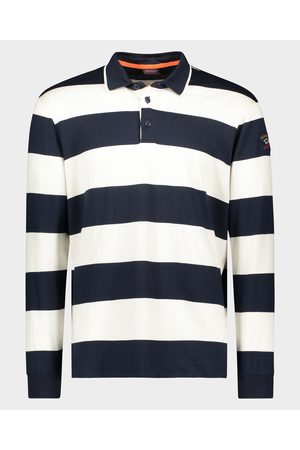 Paul & Shark Men Polo Shirts - Organic cotton Polo rugby jersey with iconic badge