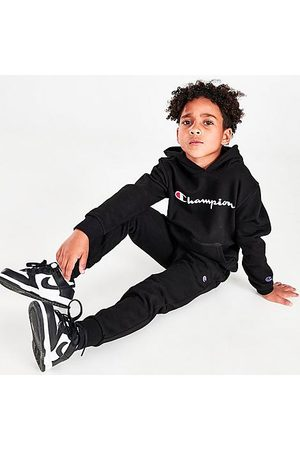 Champion Boys' Infant Classic Script Hoodie and Joggers Set in / Size 4 Cotton/Fleece