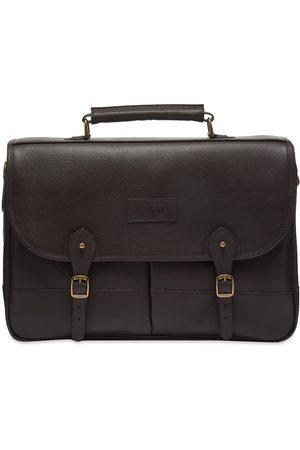 Barbour Men Laptop Bags - Leather Briefcase
