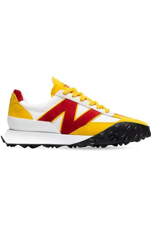NEW BALANCE Casablanca Lether & Suede Sneakers