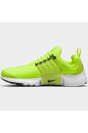 Nike Boys' Big Kids' Presto Casual Shoes in Green/Volt Size 4.0