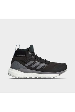 Adidas Women's Terrex Free Hiker GORE-TEX Hiking Shoes in Black/Carbon Size 6.0 Knit