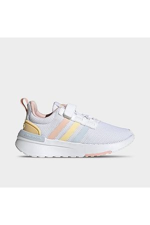 Adidas Girls' Little Kids' Racer TR21 Casual Shoes in / Size 1.0