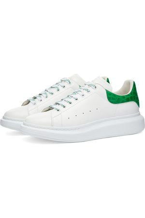alexander mcqueen Men Platform Sneakers - Croc Heel Tab Wedge Sole Sneaker
