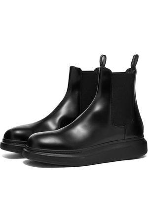 Alexander McQueen Men Chelsea Boots - Wedge Sole Hybrid Chelsea Boot