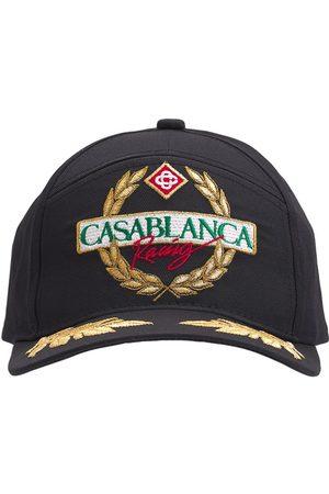 CASABLANCA Embroidered Cotton Twill Cap