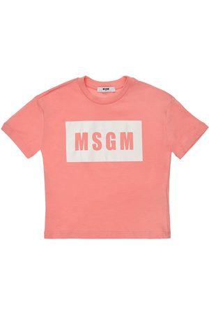 MSGM Cotton Jersey T-shirt