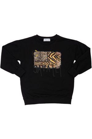 ROBERTO CAVALLI Printed Cotton Sweatshirt