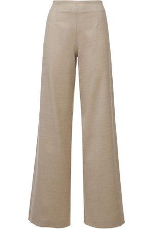 LARDINI Eboshi Stretch Wool Flannel Pants