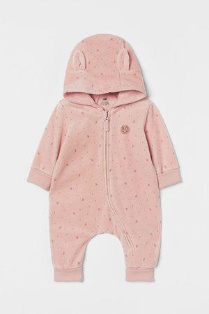 H & M Cotton-blend Jumpsuit