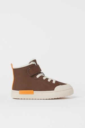 H & M Faux Shearling-lined High Tops