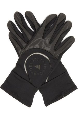 Adidas By Stella Mccartney Logo-print Training Gloves - Womens