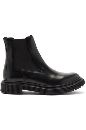 ADIEU PARIS Chunky-sole Leather Chelsea Boots - Mens