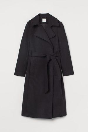 H & M Tie Belt Coat