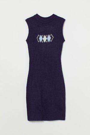 H & M Knit Sweater Vest Dress
