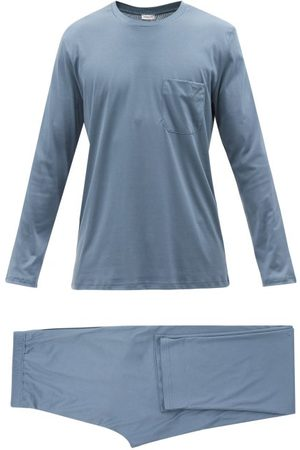 Zimmerli Men Sweats - Sea Island Cotton Pyjamas - Mens - Light