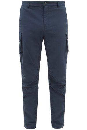 66 North Reykjavík Twill Slim-leg Trousers - Mens - Navy