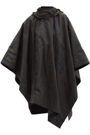 Toogood The Nomad Checked Waxed-cotton Cape - Womens - Multi