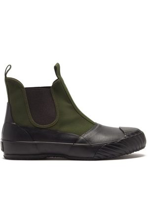 MOONSTAR Alw Sidegoa Canvas Chelsea Boots - Womens - Khaki