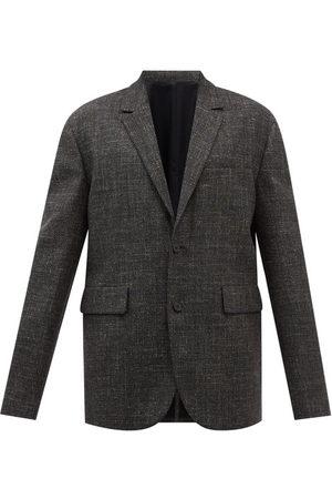 Raey Men Jackets - Drop-shoulder Wool-blend Twill Suit Jacket - Mens