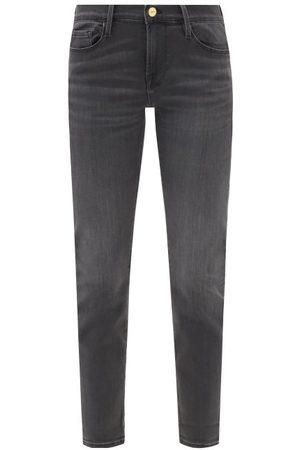 Frame Le Garcon Slim-leg Jeans - Womens - Grey