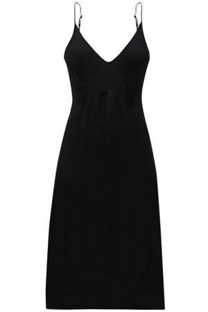 Araks Cadel Pintuck-pleated Silk Nightdress - Womens