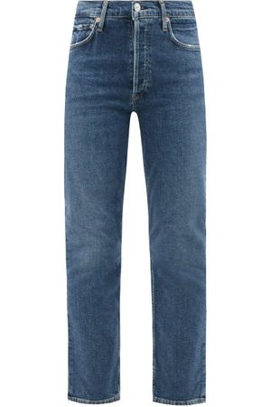 Citizens of Humanity Charlotte High-rise Straight-leg Jeans - Womens - Mid Denim