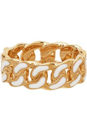 A.P.C. Men Rings - Gold & White Sam Ring