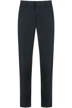 BOSS Men Chinos - Kaito stretch-cotton chino trousers