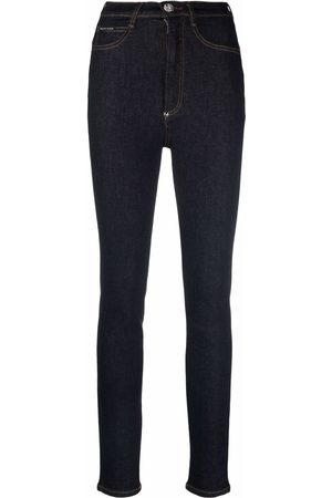 Philipp Plein Iconic high-waist skinny jeans