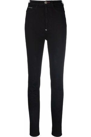 Philipp Plein Women High Waisted - Super high waist jeans